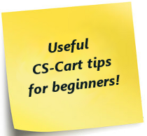 Useful CS-Cart tips