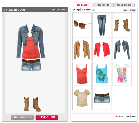 My boutique at wetseal