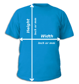 Real t-shirt measuring