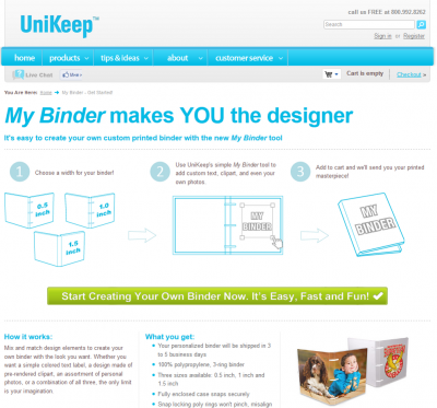 Unikeep - Create your own binder