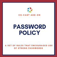 CS-Cart Password Policy add-on