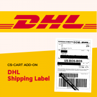 CS-Cart add-on DHL shipping label