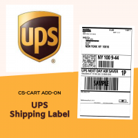 UPS Shipping Labels CS-Cart add-on